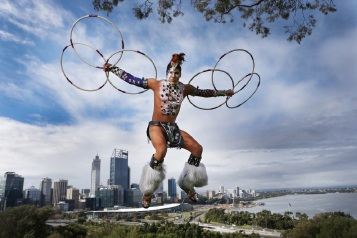 Photographer Andrew Ritchie's winning Native American winning shot.        www.communitypix.com.au   d448347