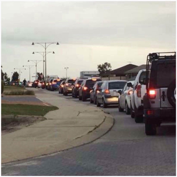 Residents say Brushfoot Boulevard is too busy and dangerous. Picture: Jennifer Crozier