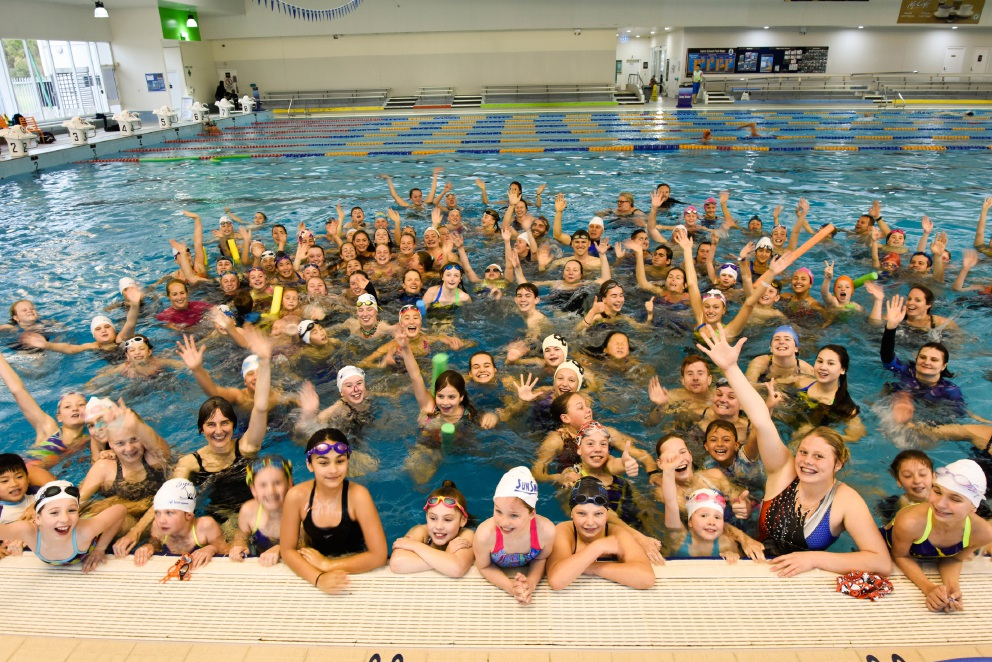 Leisurefit Booragoon claims syncro swim record
