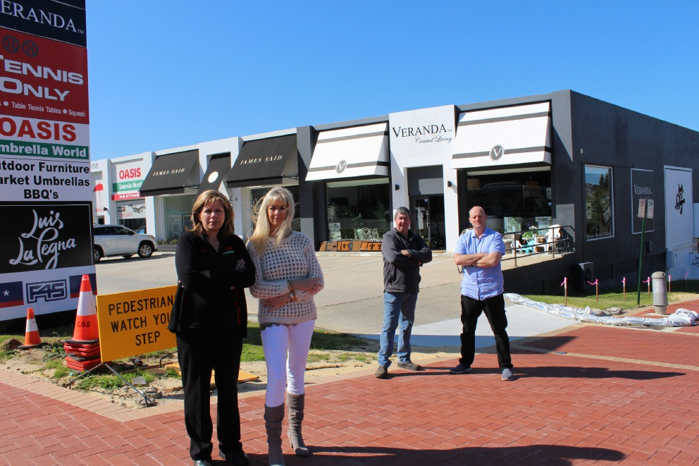 City of Nedlands under fire from business owners over lack of consultation about roadworks