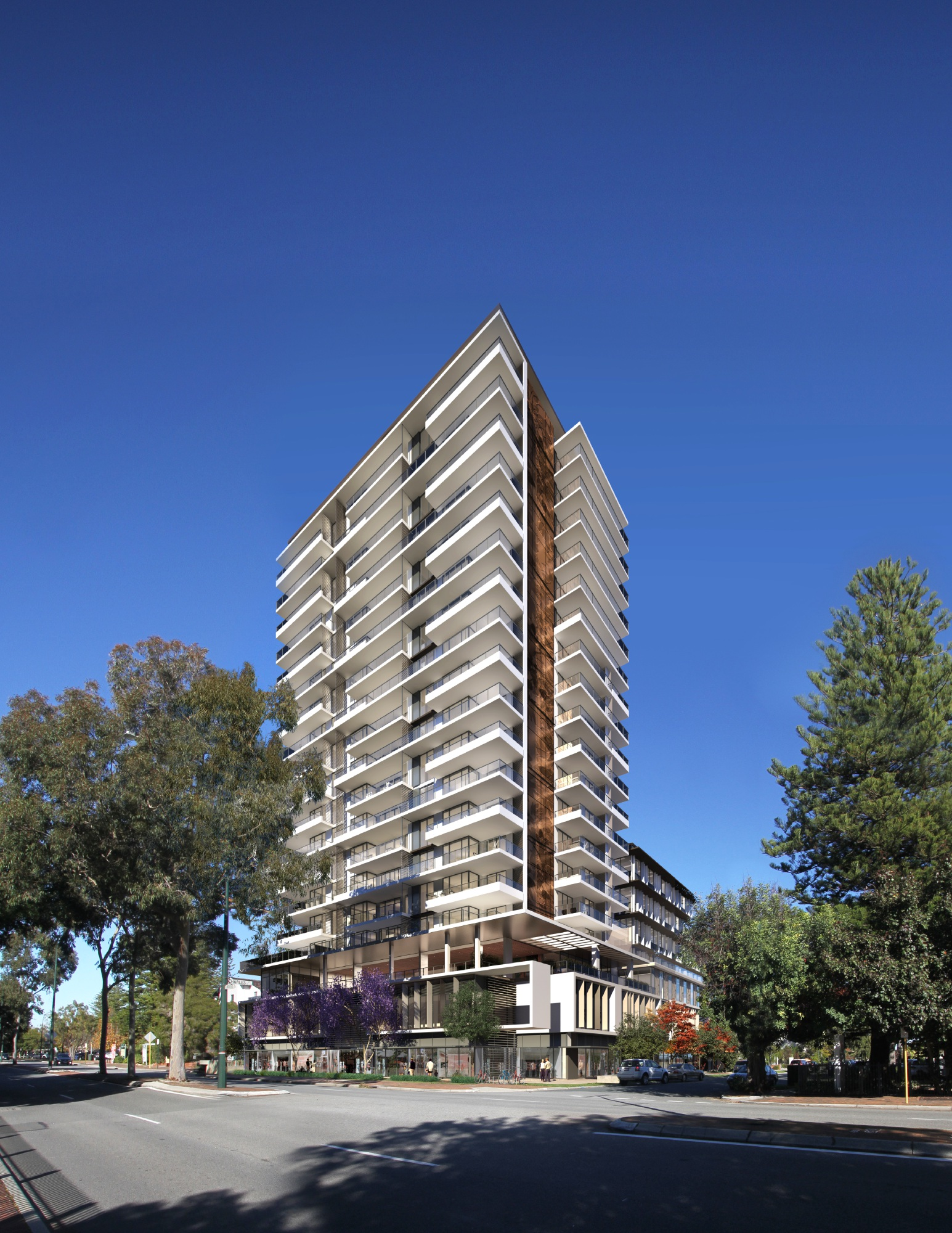South Perth apartment building at pinnacle of success