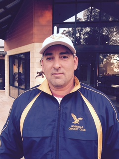 Gosnells Cricket Club coach Danny Neretlis.