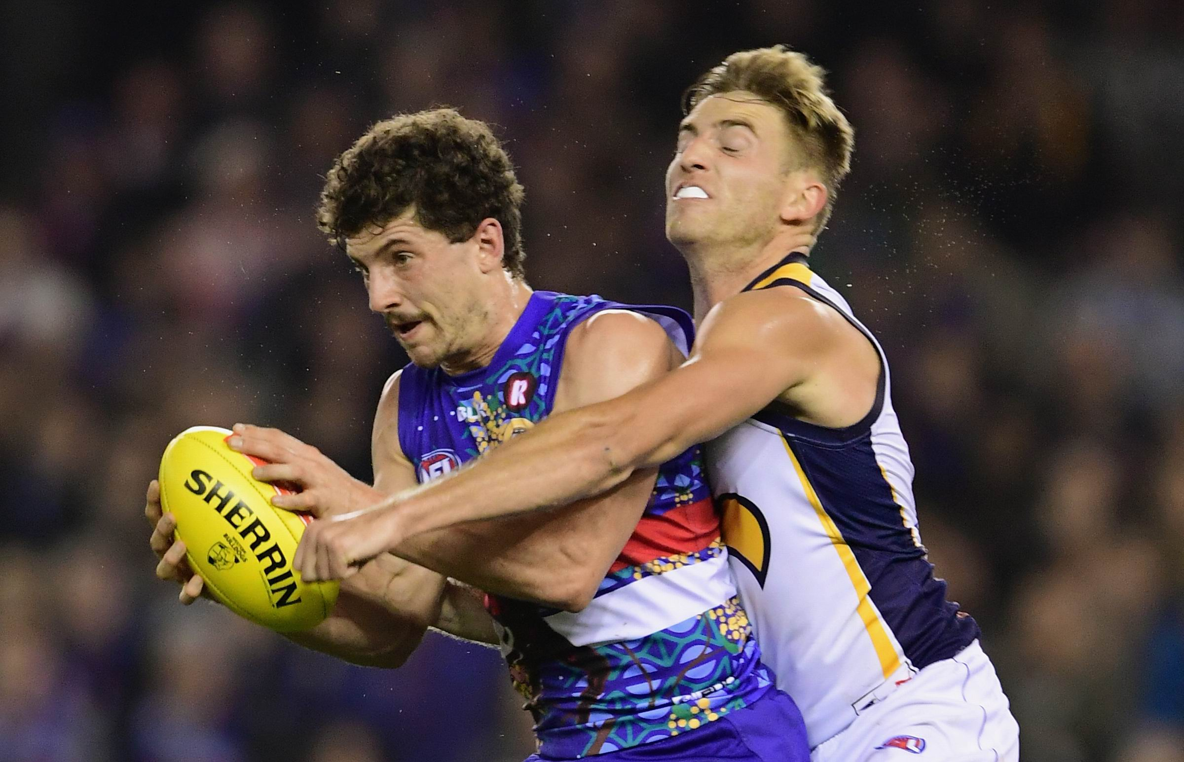 Tom Liberatore was a thorn in the Eagles side last time they played.