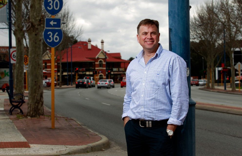 Shire of Serpentine-Jarrahdale councillor Rob Coales wants to be the Liberal Party candidate for the now vacant State seat of Darling Range. Picture: Marie Nirme d459117