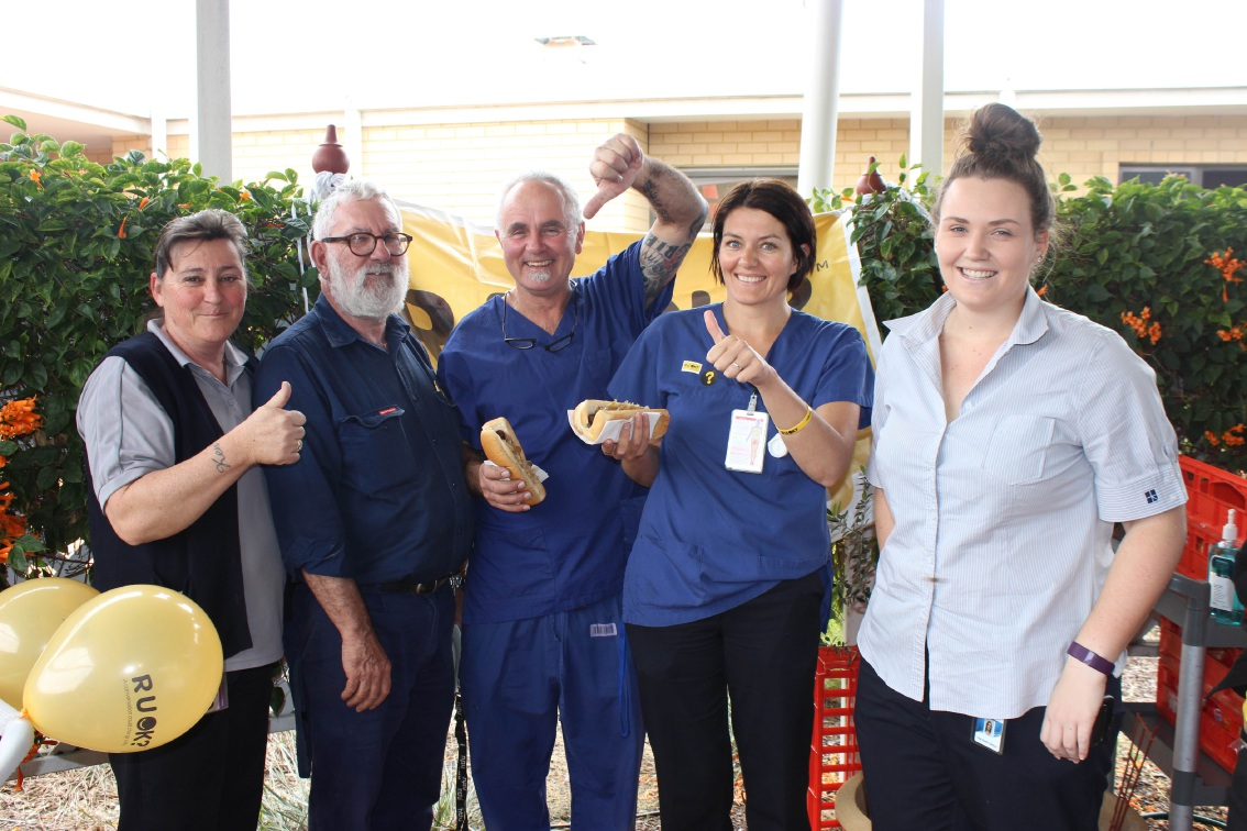 Peel Health Campus staff ask RUOK?