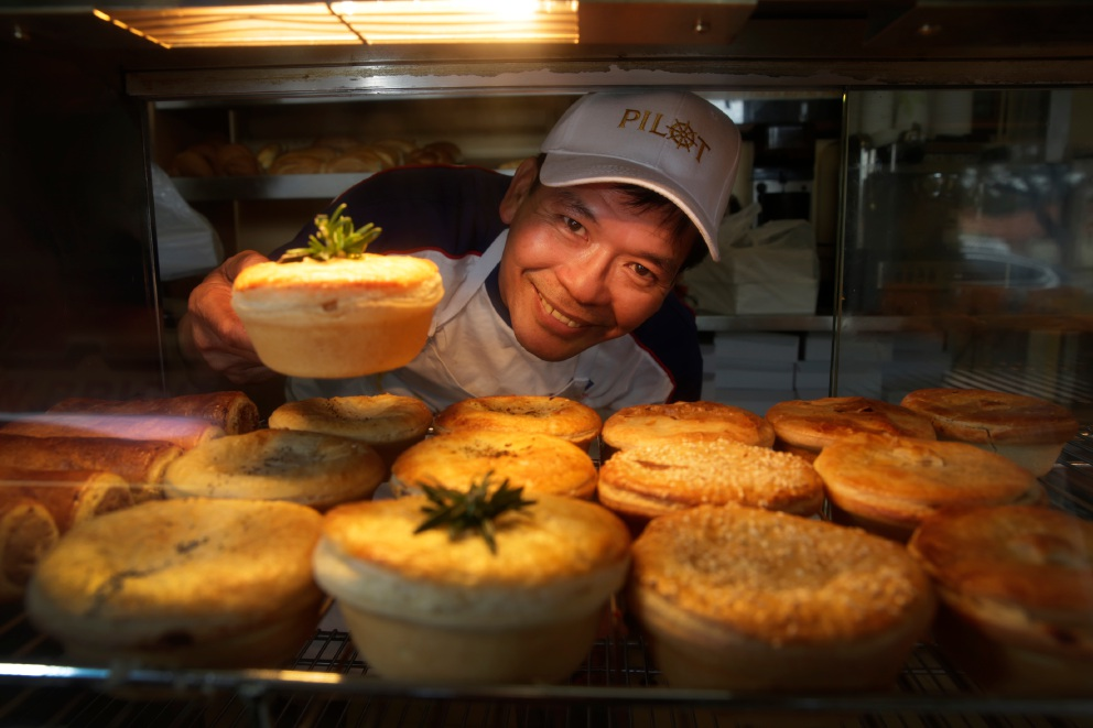 Brighton Bakery owner Vuong Dong claimed another seven awards at the Royal Bread and Pastry Show last week. Picture: Andrew Ritchie www.communitypix.com.au   d459111