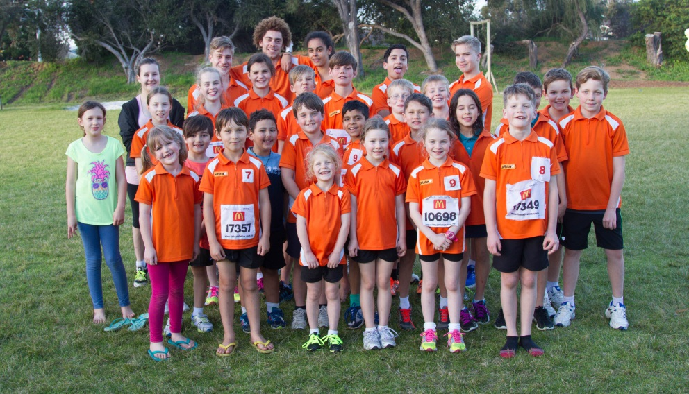 The kids at the Victoria Park Phoenix Little Athletics Club.