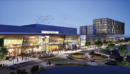 An artist's impression of the Morley Galleria redevelopment.