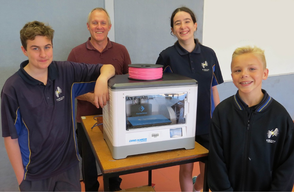 Kinross College learning has new dimension