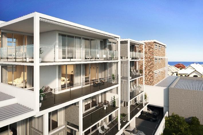 North Beach apartment development takes off