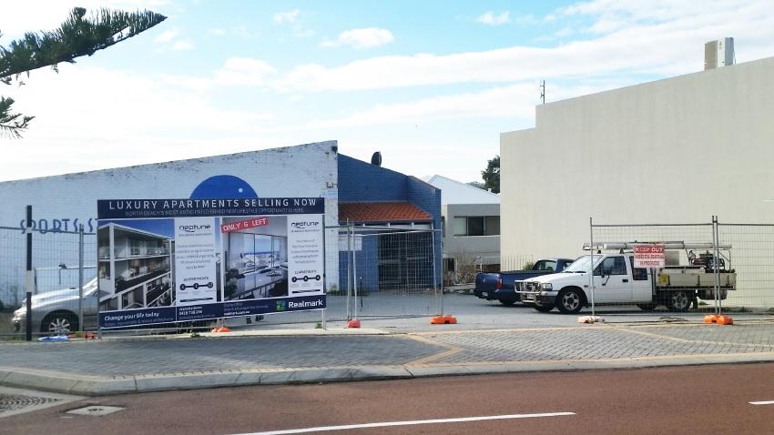 Demolition works have begun on the Neptune on Flora site.