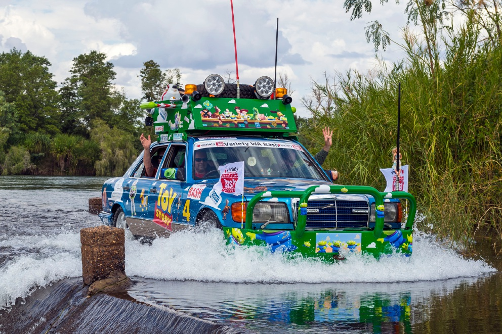 The Toy Story 4 team during the Variety Bash. Pictures: Tony Tropiano