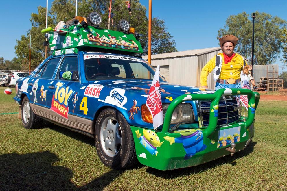 Northern suburbs cars shine in Variety WA Bash rally