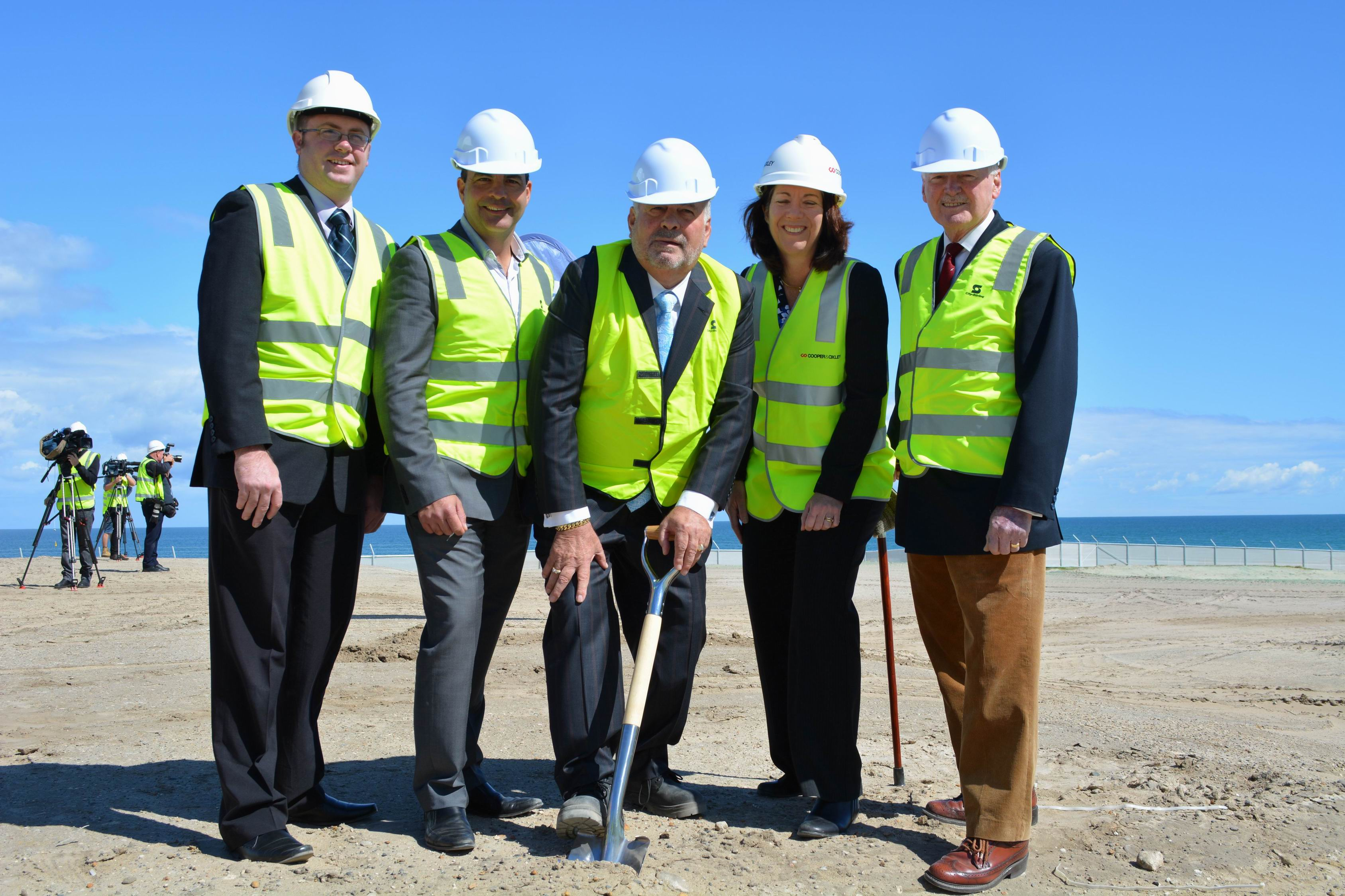 Scarborough Beach Pool: first sod turned at $26m 'jewel in Scarborugh's crown'