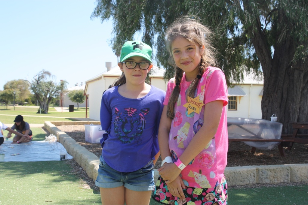 Summer Bettencourt and Ivana Kursar had a great time at camp.