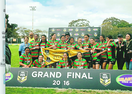 Rugby League: Ellenbrook Rabbitohs celebrate first premiership
