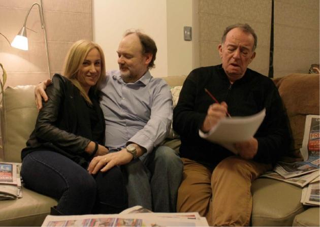 Cassandra Gorman, Jarrod Buttery and Alan Morris in The Love List.