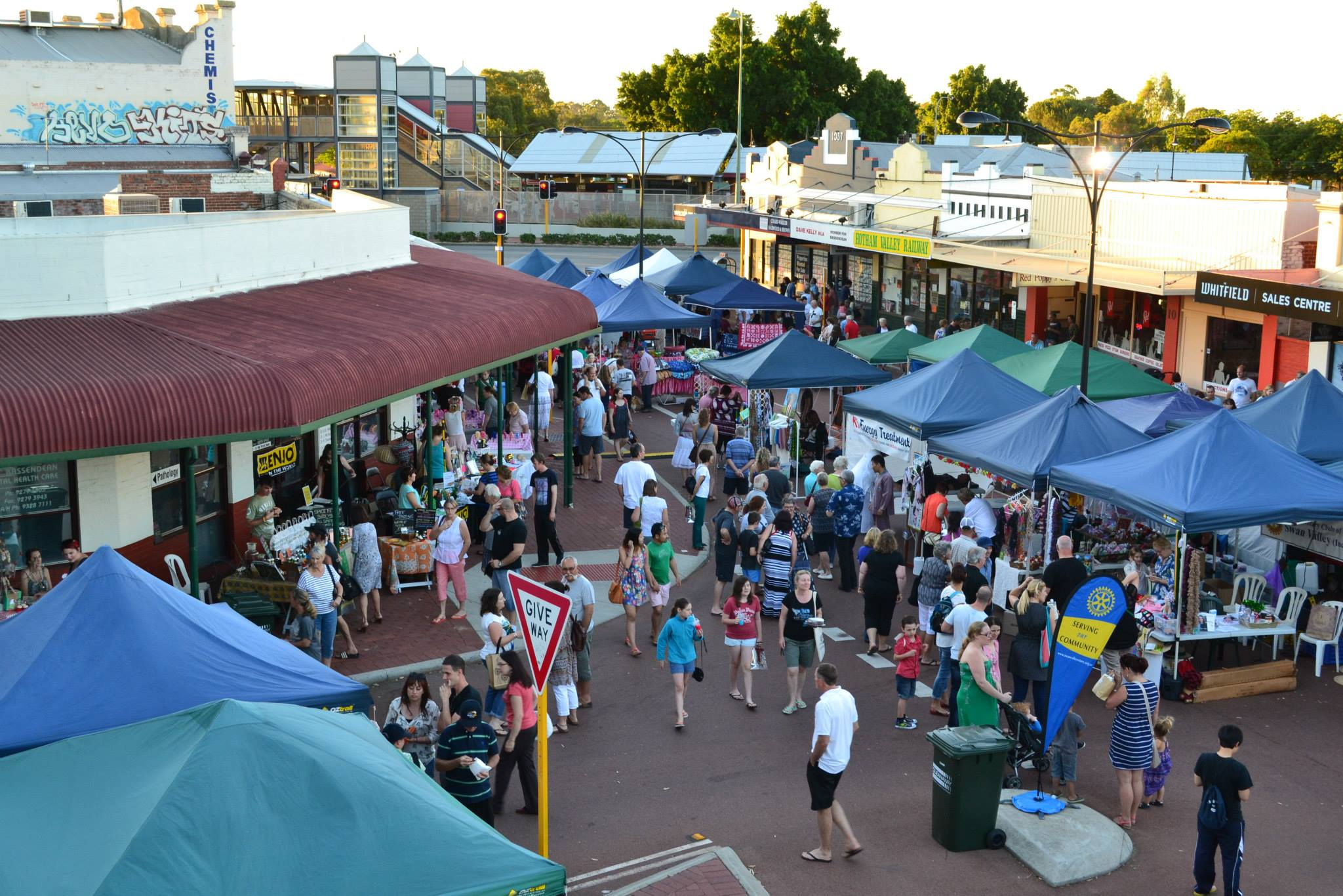Old Perth Road Markets to stage final Sunday session of the year