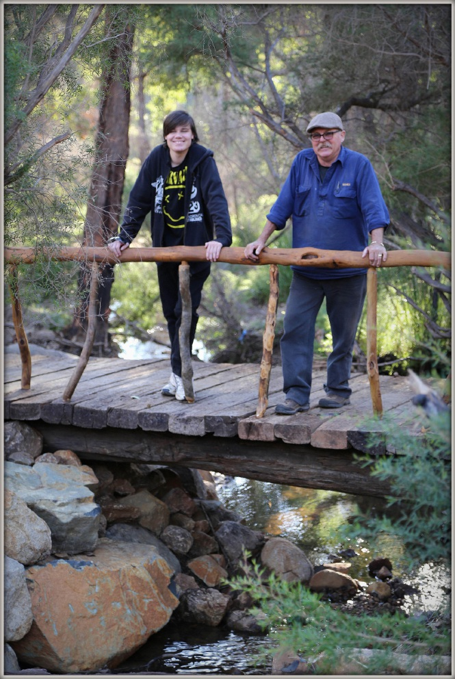 Volunteer woodworkers wanted for Lesmurdie falls beautification project