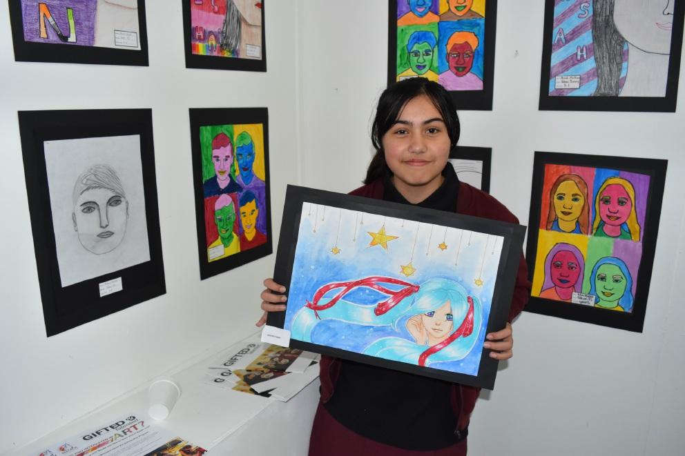 Balcatta Senior High School exhibition uncovering the next generaton of art stars