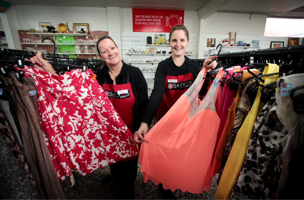 Salvation Army launch National Op Shop Week campaign