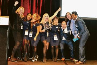 ECU students celebrate Enactus National Championships win for waste program