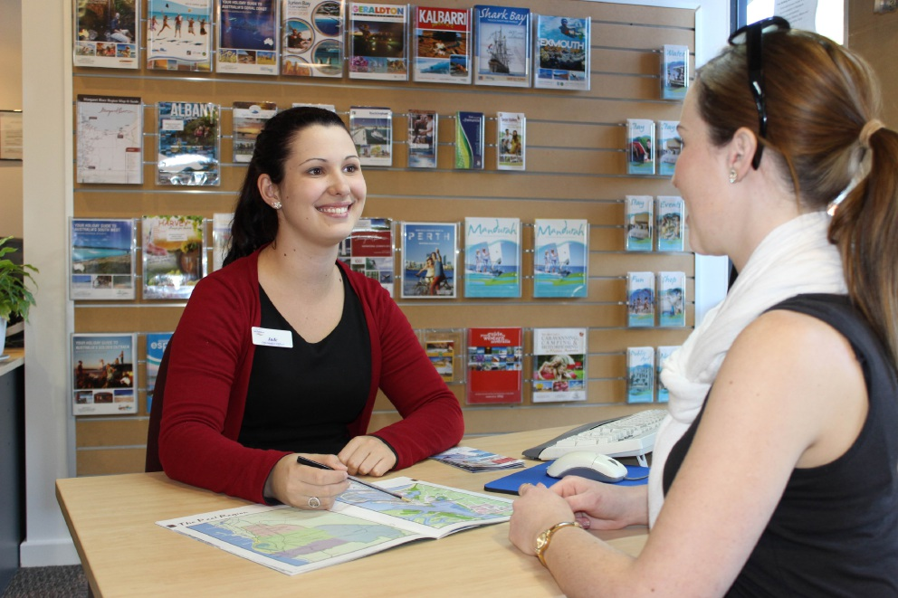 The Mandurah Visitor Centre has received a certificate of excellence.