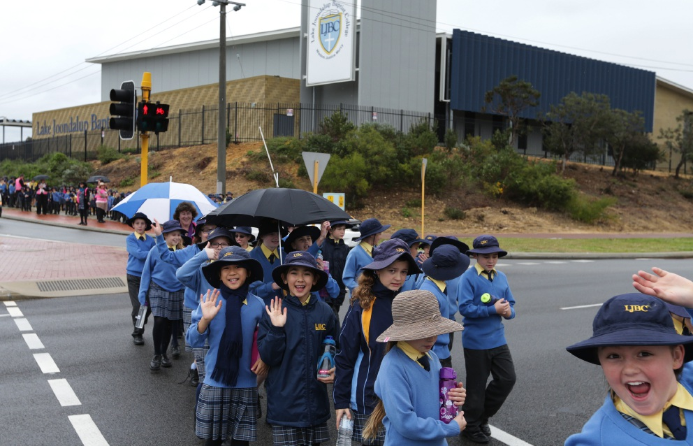 Lake Joondalup Baptist students taken on big friendly journey