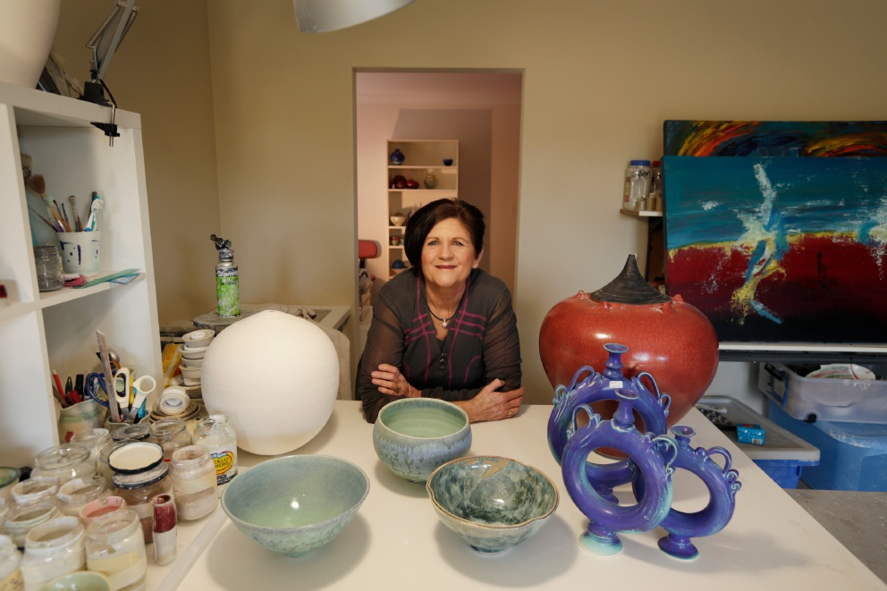 Trigg ceramic artist Victoria Malone will appear in the Fine Art at Hale School exhibition from 29-31 July. Picture: Andrew Ritchie