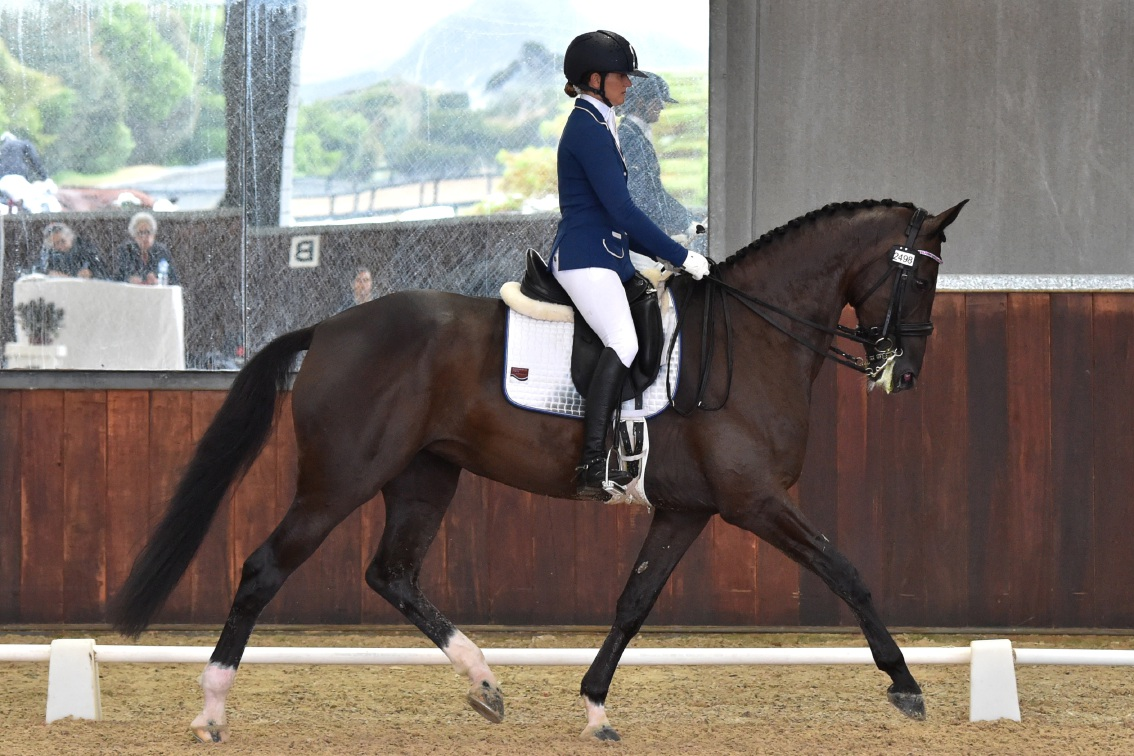 Sharon Jarvis and Ceasy. Picture: Julie Wilson