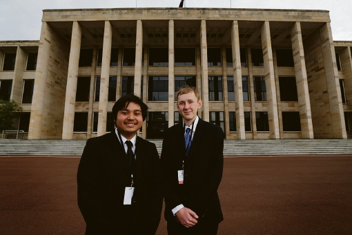John Forrest Secondary College's budding politicians join Youth Parliament