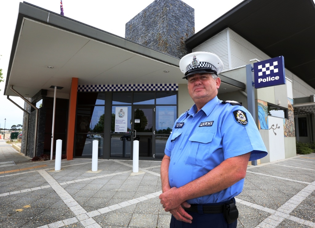 Ellenbrook Police Station's new officer-in-charge Wal Brierly says his priority is to get to know the community.  Picture: Matt Jelonek  d445641