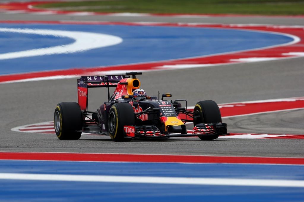 Ricciardo in action in Austin.