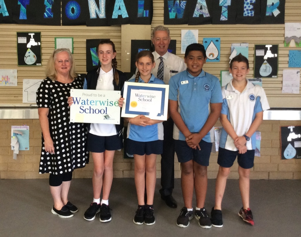 Schools tap into waterwise message