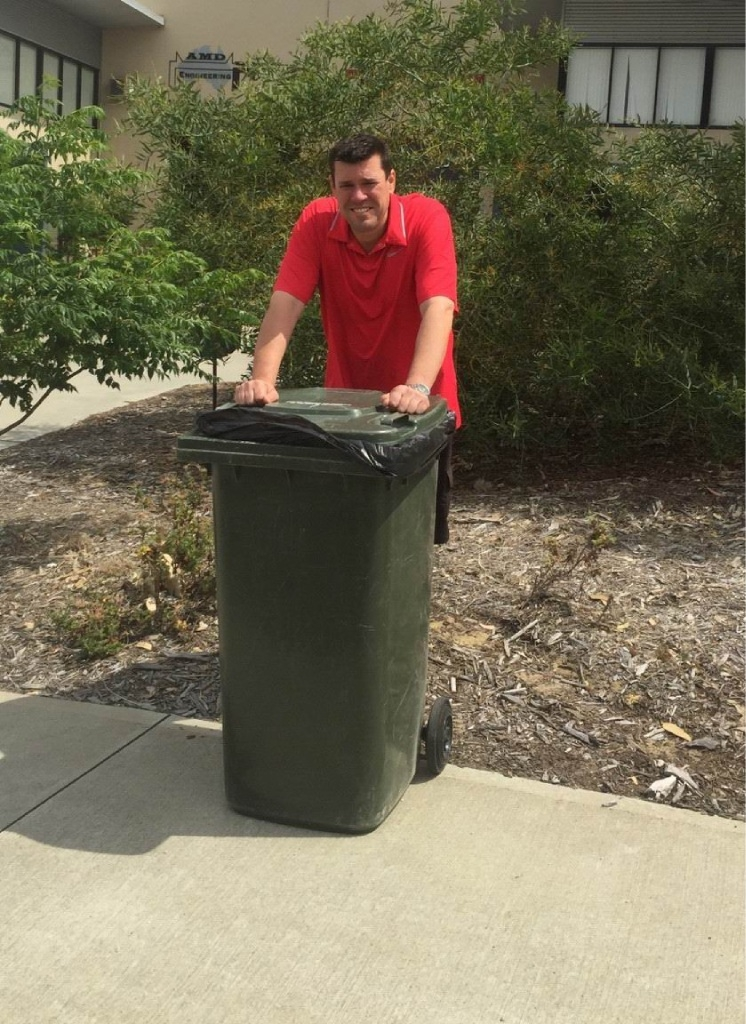 South Metropolitan Region MLC Phil Edman is excited that household rubbish could soon be used to generate electricity in Kwinana.