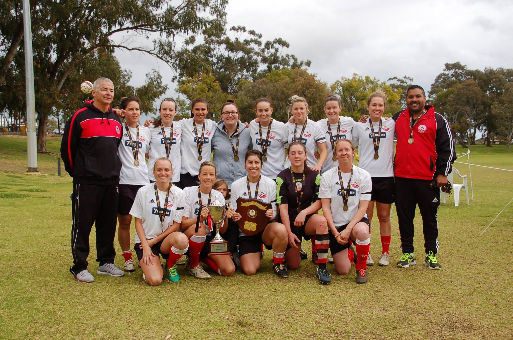 Soccer: Northern Redbacks do the league and cup double