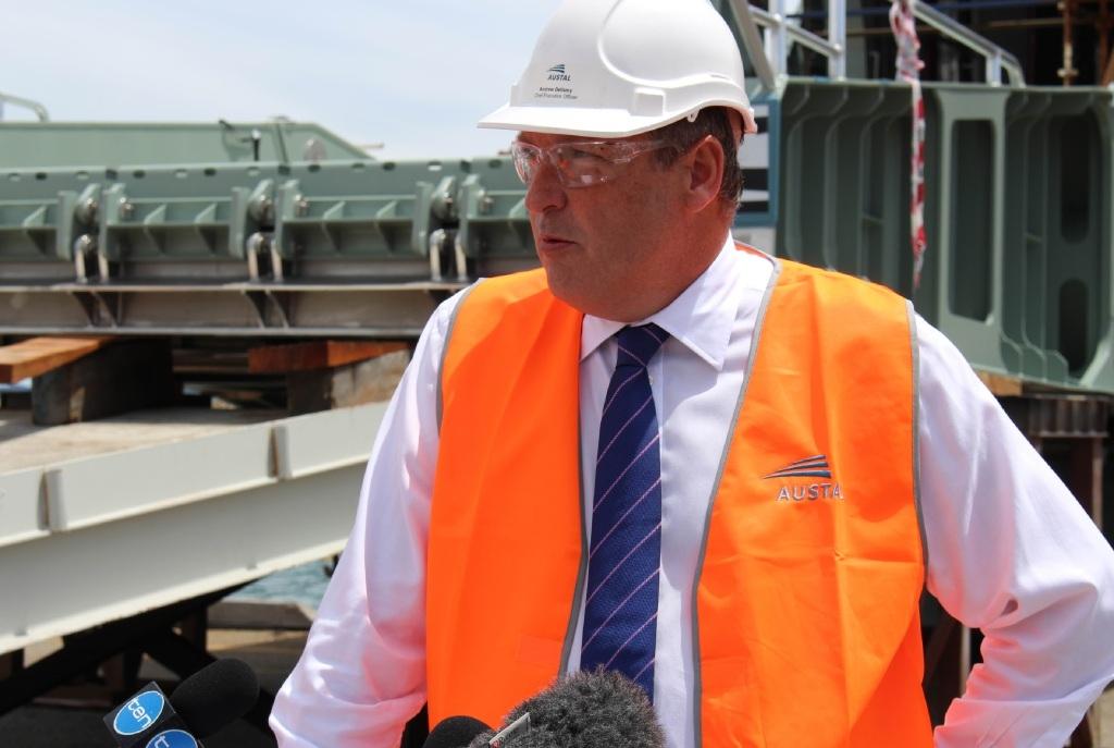 Austal chief executive Andrew Bellamy.