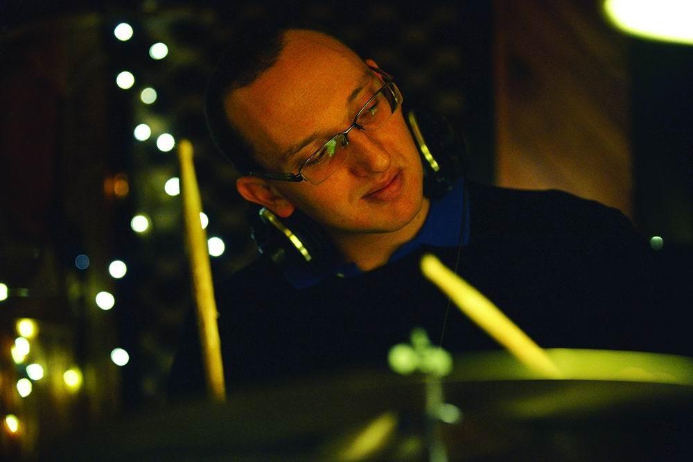 Percussionist Daniel Susnjar.