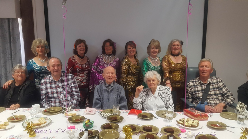 Joan Brunsdon celebrated her 90th birthday surrounded by family and friends.