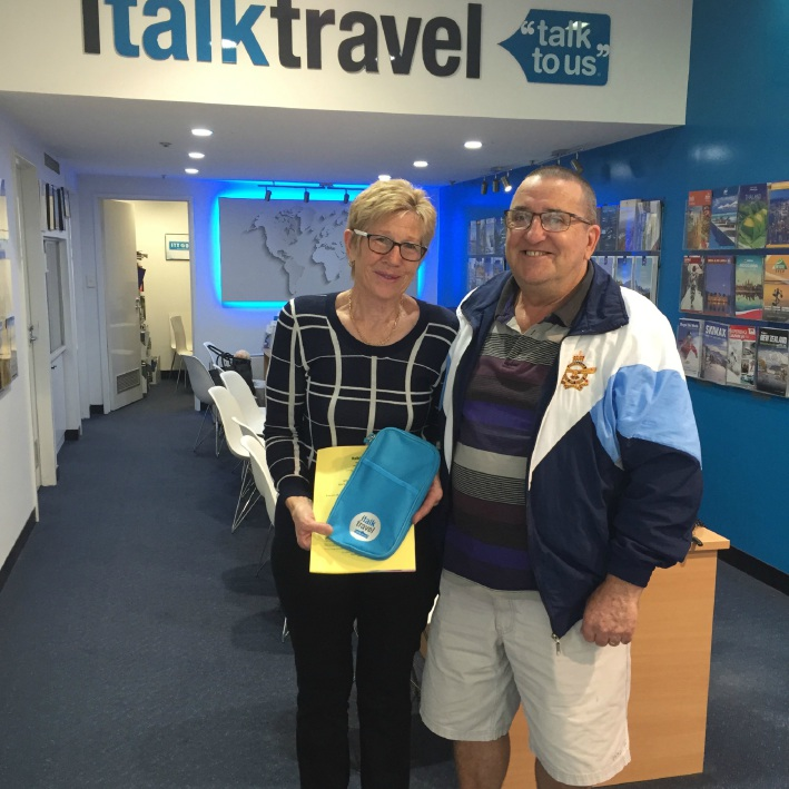 Glenda and Noel Shea are looking forward to a holiday in Hawaii.