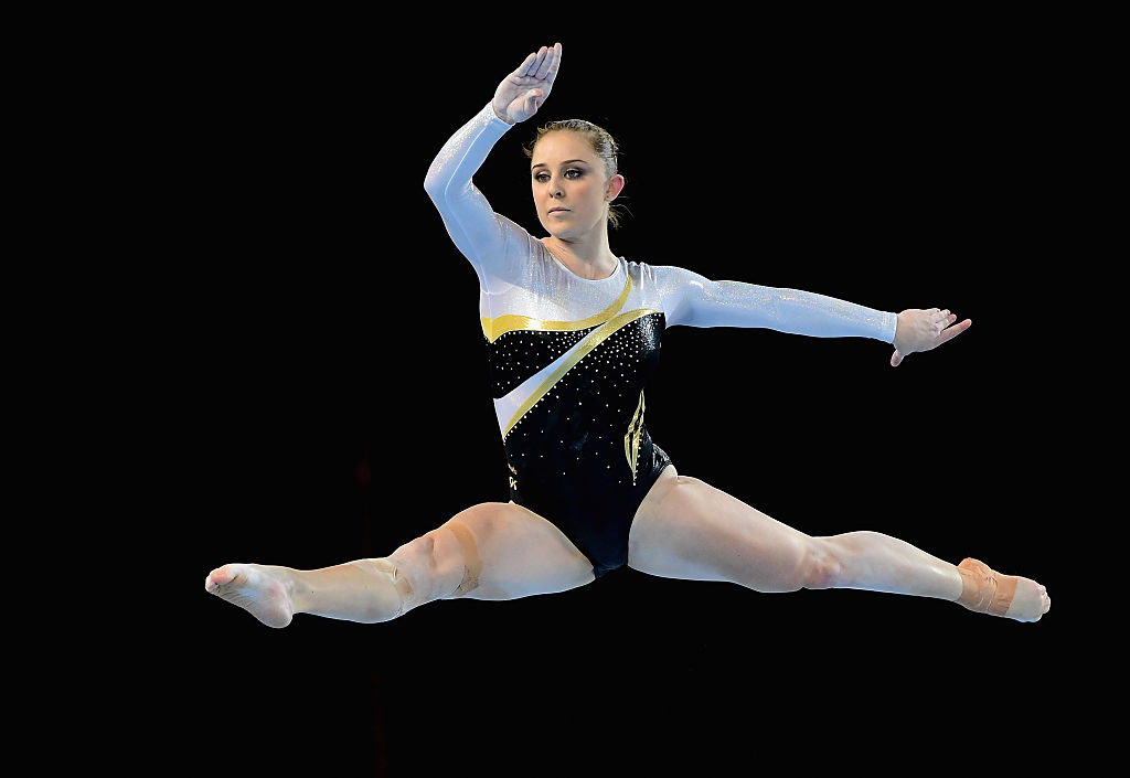 WA gymnast Lauren Mitchell during the 2016 Australian Gymnastics Championships.  Picture: Quinn Rooney/Getty Images