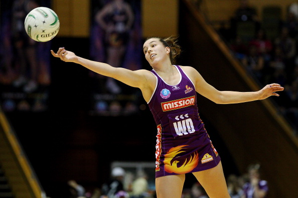 Shannon Eagland, who used to play for the Firebirds, has been signed by West Coast Fever. Picture: Chris Hyde/Getty Images.