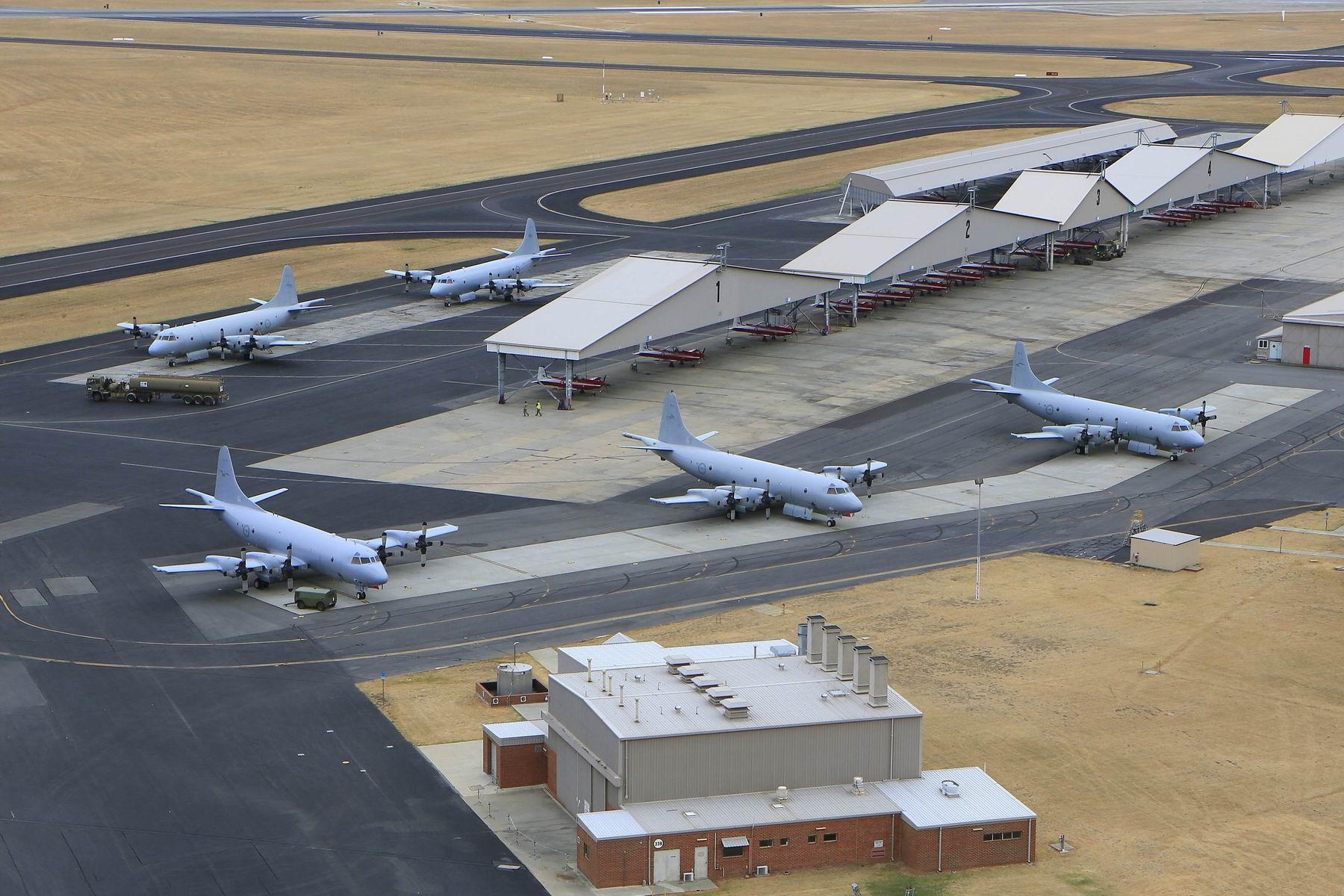 The RAAF Pearce base.