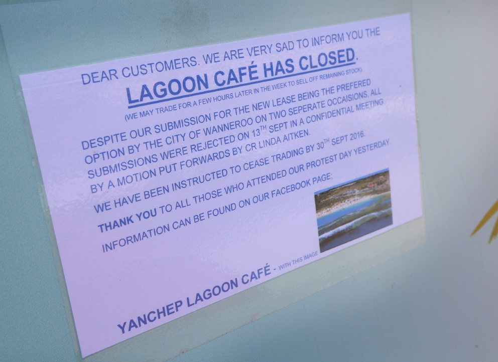 Yanchep residents angered by closure of popular cafe