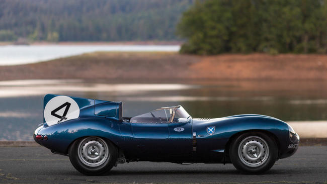 Jag D-Type fetches $28.7m at auction, highest ever price for British car