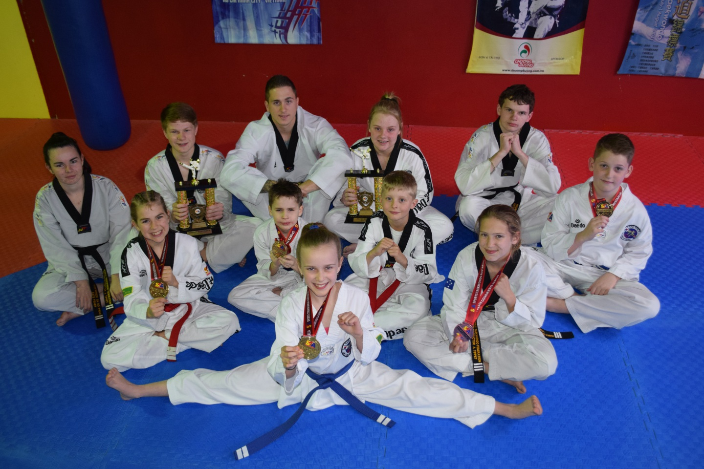 Oh Do Kwan members in Port Kennedy had a successful National Championships in Victoria.