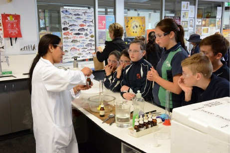Wanneroo Secondary College: science rules at festival