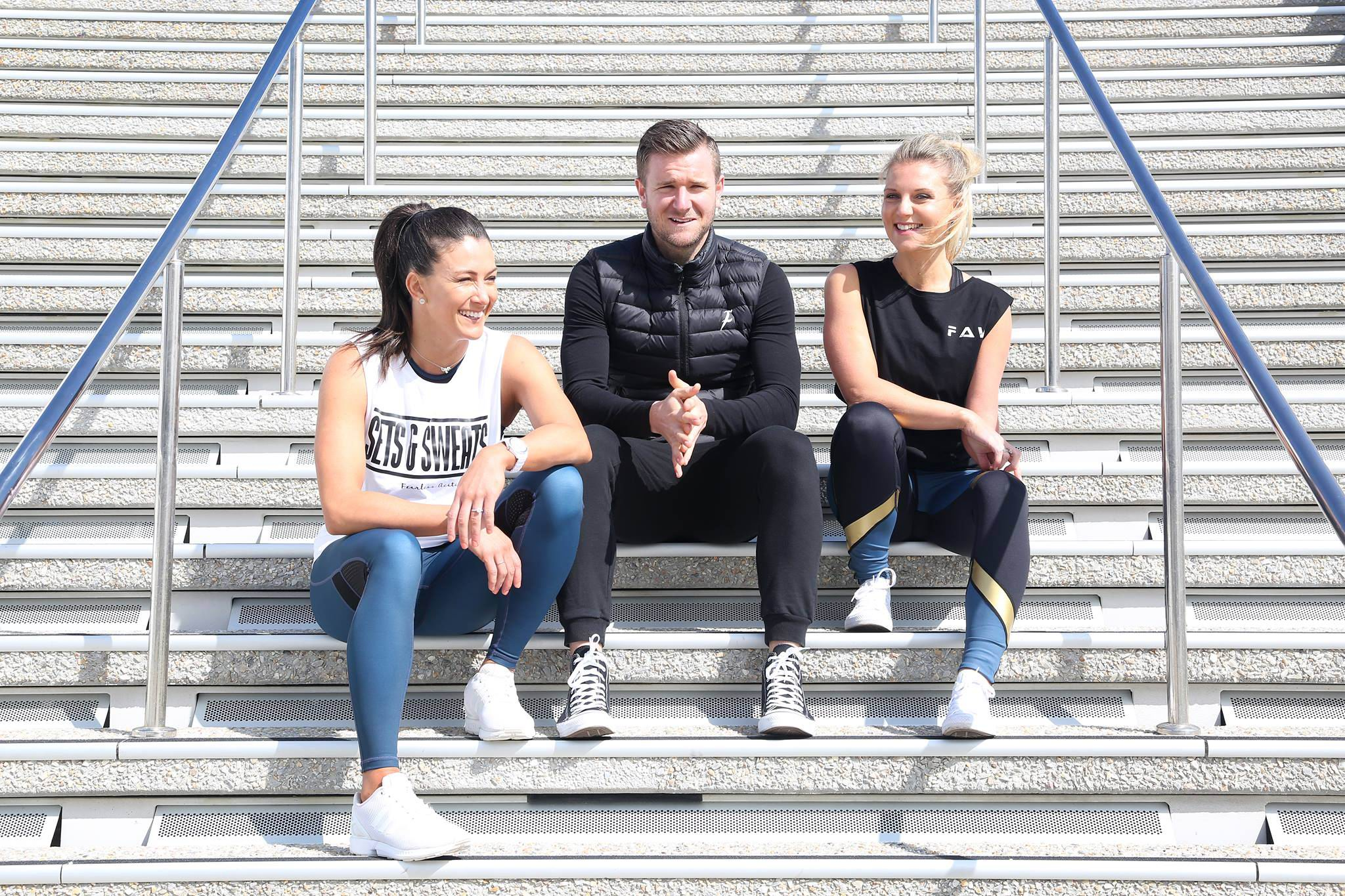 Inglewood player Calum O'Connell fearless in kicking along active wear label