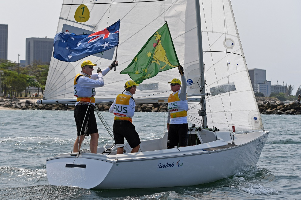 Sailor Colin Harrison back at work after fulfulling golden Paralympics dream