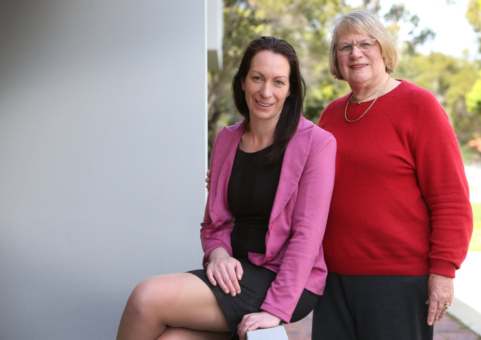 Educators Megan Bagworth and Pam Bagworth say students are feeling the pressure more these days . Picture: Matt Jelonek www.communitypix.com.au   d460045